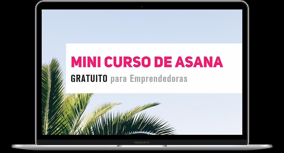Si buscas una app para organizarte, te enseño a hacerlo con Asana a través de  este mini curso gratuito . Hablando de mini cursos...