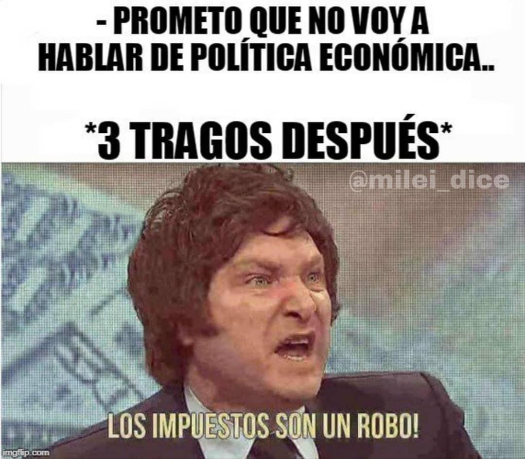 Meme Javier Milei