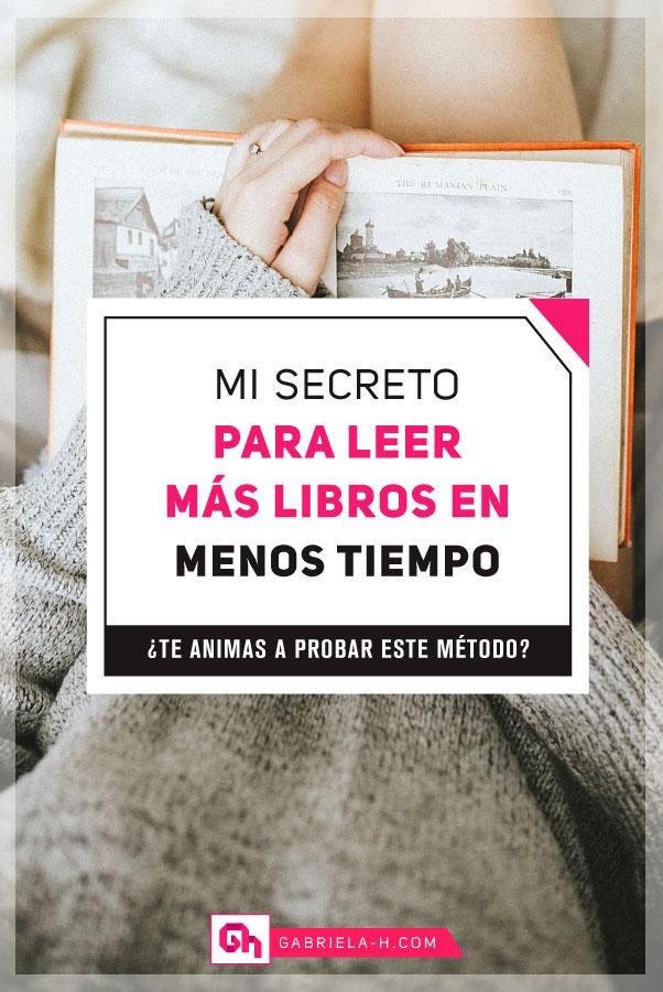 Cómo leer más libros en menos tiempo #gabrielah #libros #habitos #lecturas #productividad #gestiondetiempo