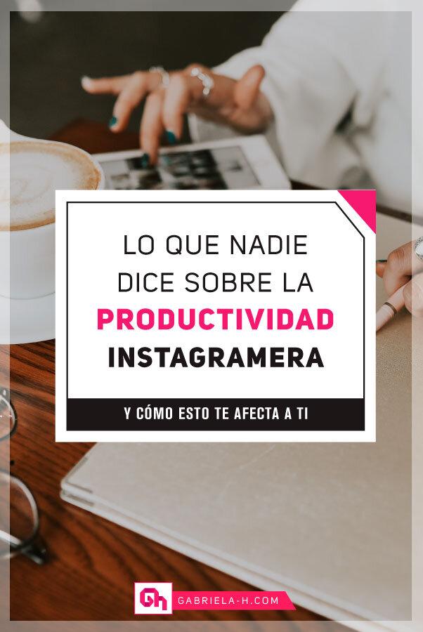 El peligro de la productividad instagrammera #productividad #instagram #organizacion #motivacion #inspiracion #mindfulness