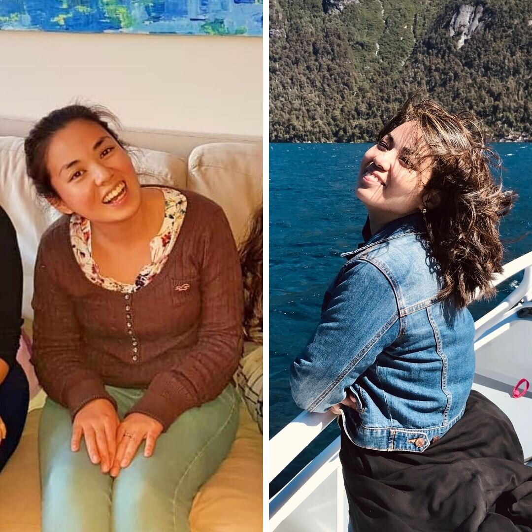 Antes y después: Con solo mirar las fotos ya podés ver cuál de las dos Gabys tiene más poder  🌟