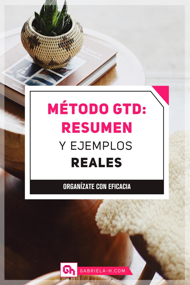 En este post te enseñare como implementar el Método GTD  #Organizacion