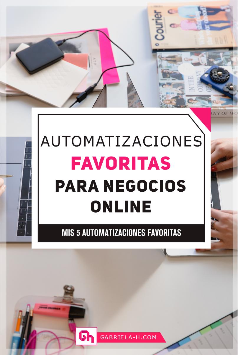 Aprende como automatizar tu negocio online con estas 5 aplicaciones #Productividad #Emprendimiento #Emprendedora #Negocio