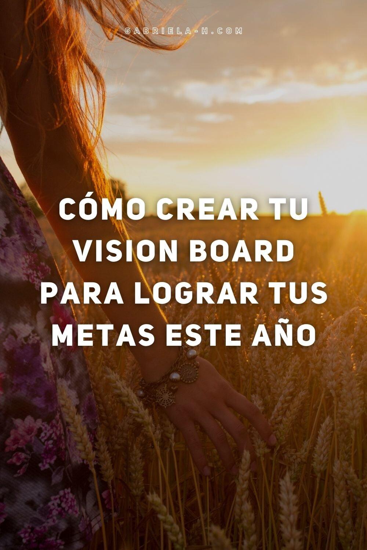 Cómo armar tu vision board 2021 #clase