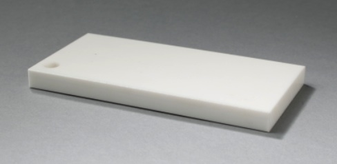 Duro-Glide® 925 Hi Temp White  is a premium UHMW Polymer containing a unique antioxidant which protects IT from breaking down at extreme temperatures. This grade is used in high temperature applications where normal UHMW fails.  This enhanced material is designed to operate effectively under lower loads, with a temperature range peaking at 275°F.   DOWNLOAD THE DATASHEET  FOR THIS DURO-GLIDE® UHMW SHEET PRODUCT.