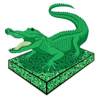 gator on uhmw sheet