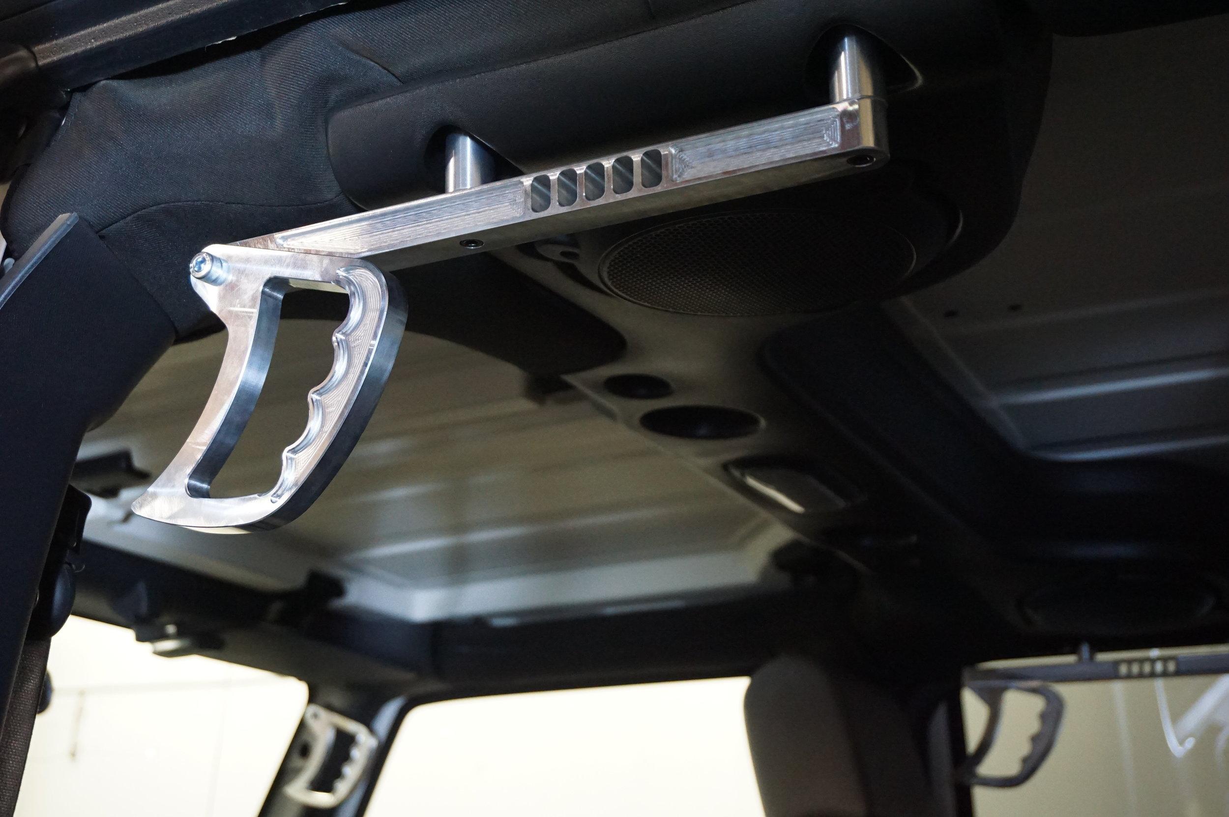 Jeep Wrangler JK interior grab handles