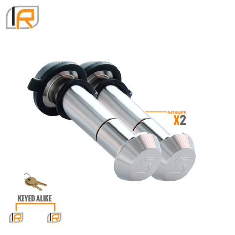 Infiniterule Locking pins