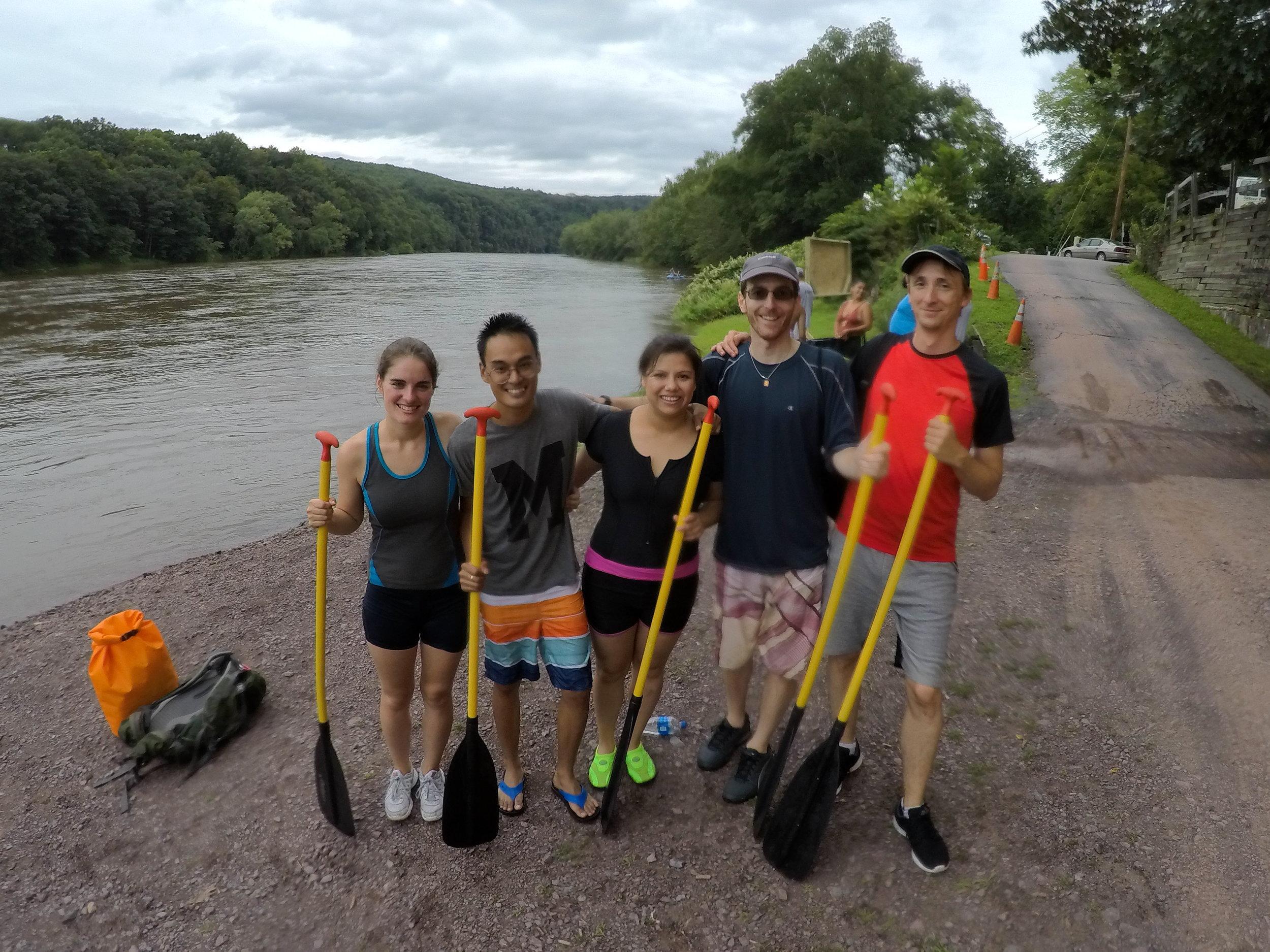 Rafting @ Delaware River
