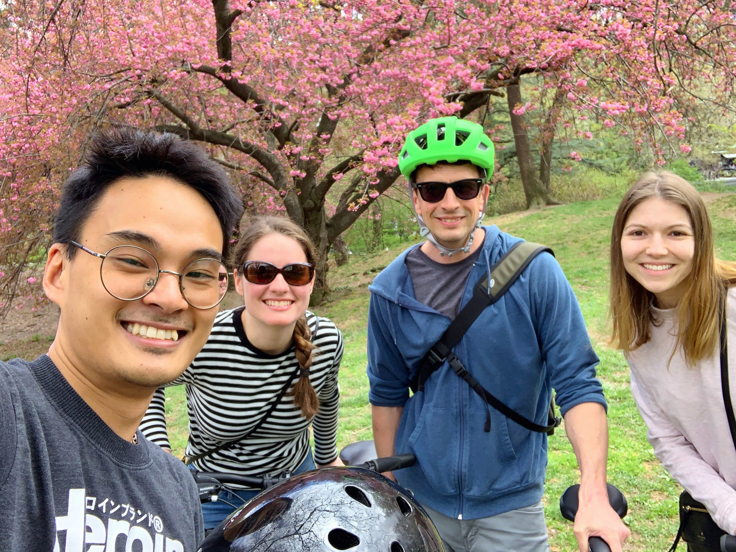 Biking in Central Park!