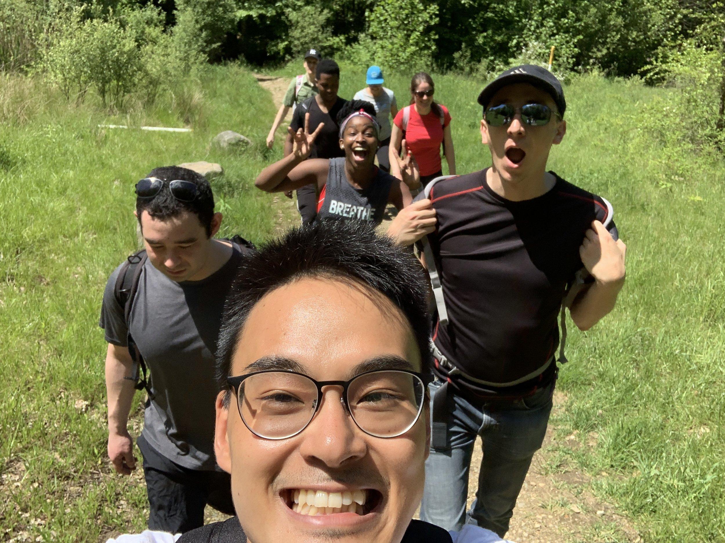 Memorial Day Hiking @ Sloatburg, NY