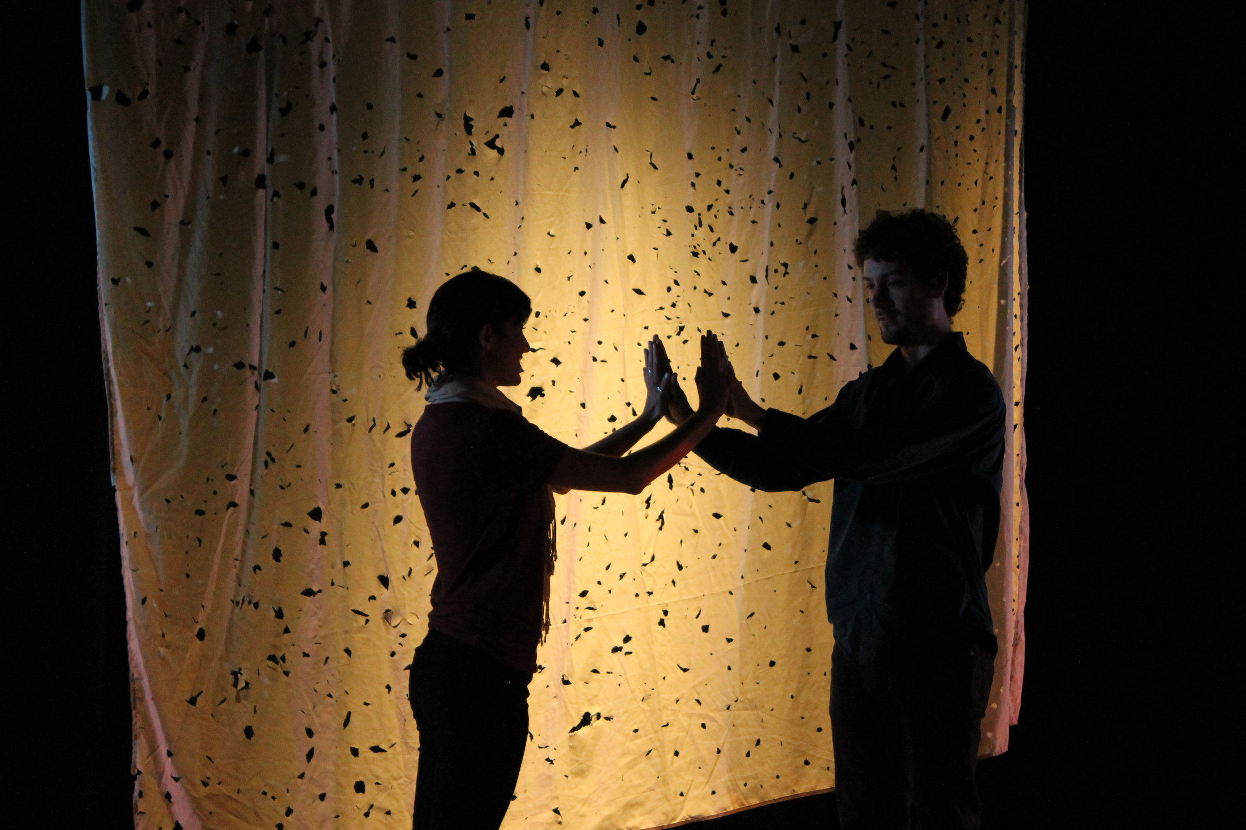 From one of our 2014 students' productions of John Patrick Shanley's  Let Us Go Out Into That Starry Night.