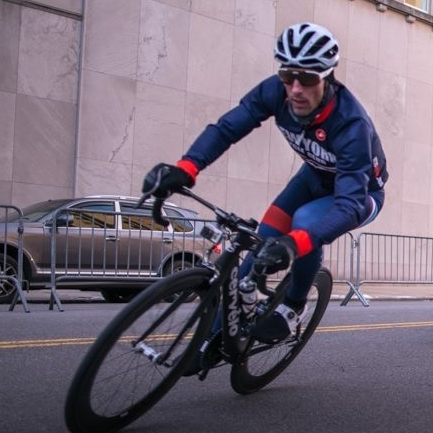 Chad Butts - Chad is a cycling coach with Endurancewerx and experienced Cat 1 racer.