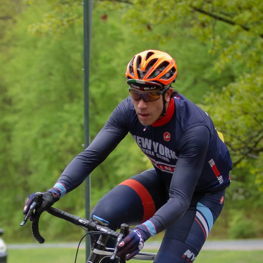 Ricardo Tessarotto - Rower turned cyclist, Ricardo upgraded from Cat 5 to Cat 3 in his first season of racing!