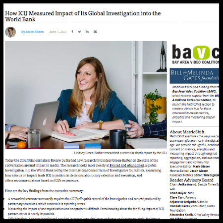 Q&A: How ICIJ Measured Impact of Its Global Investigation into the World Bank