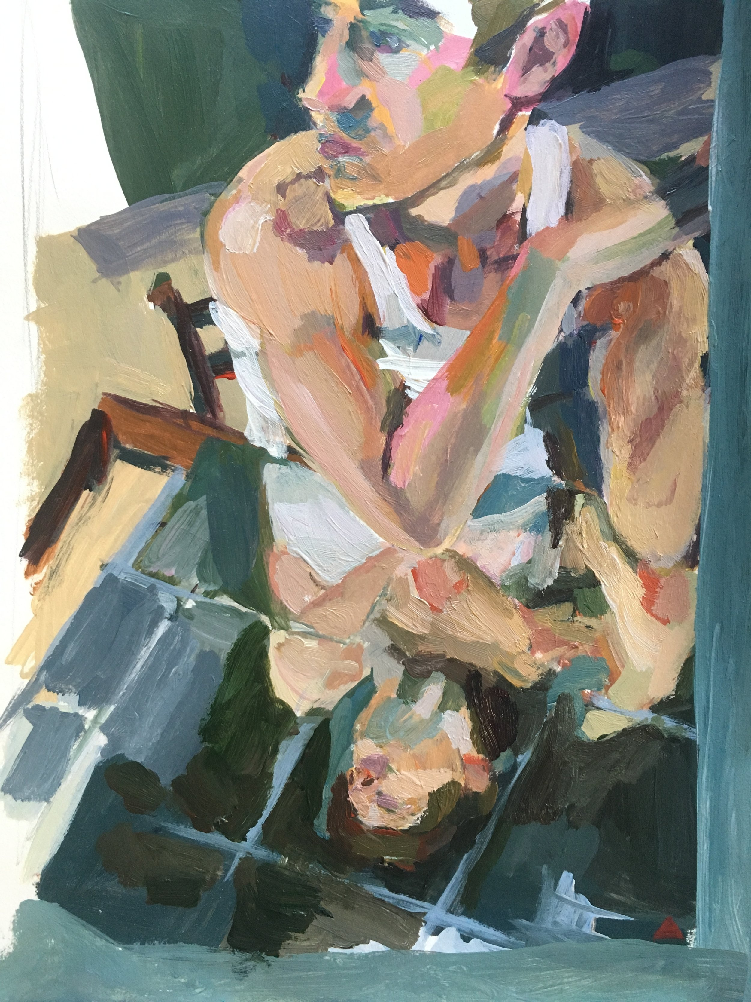 Dan Reflection Paintin.JPG