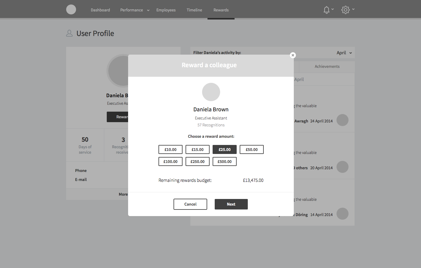 12. User Profile | Reward colleague | Choose amount.png