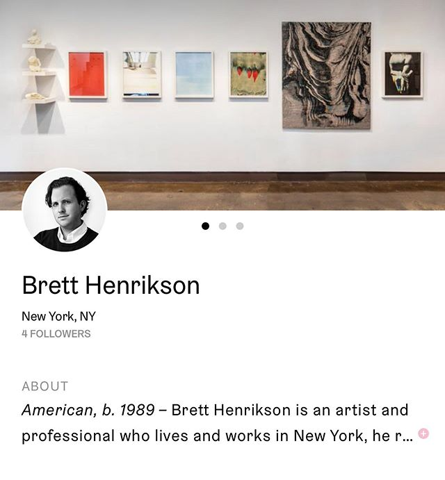 I'm excited to announce that my artwork is now for sale on Artfare!  @artfare  Check it out at: Artfare.com/brett-henrikson  #henrikson #artfare #nextslide #risdalumni #svaalumni #nycartist #nyc #classical #abstract #formal #contemporaryart