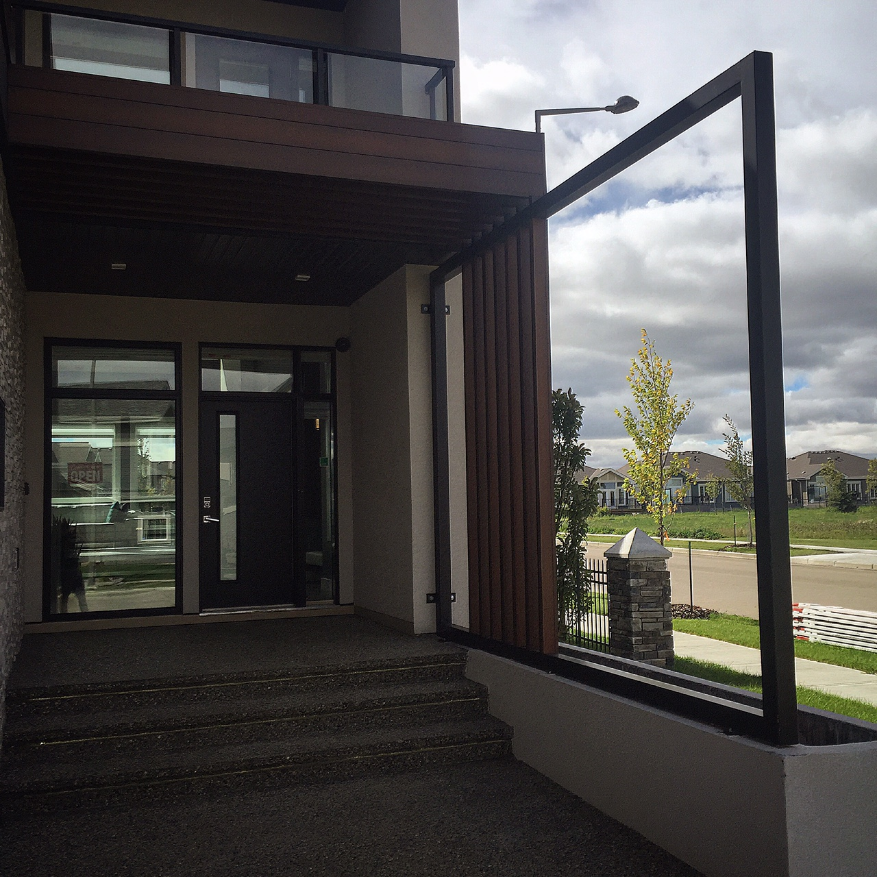 Custom Home Railing Edmonton
