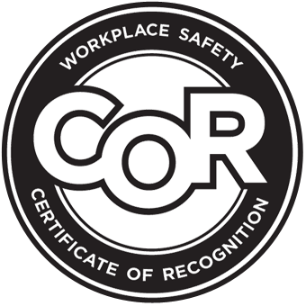 COR Certified Metal Fabrication and Welding shop