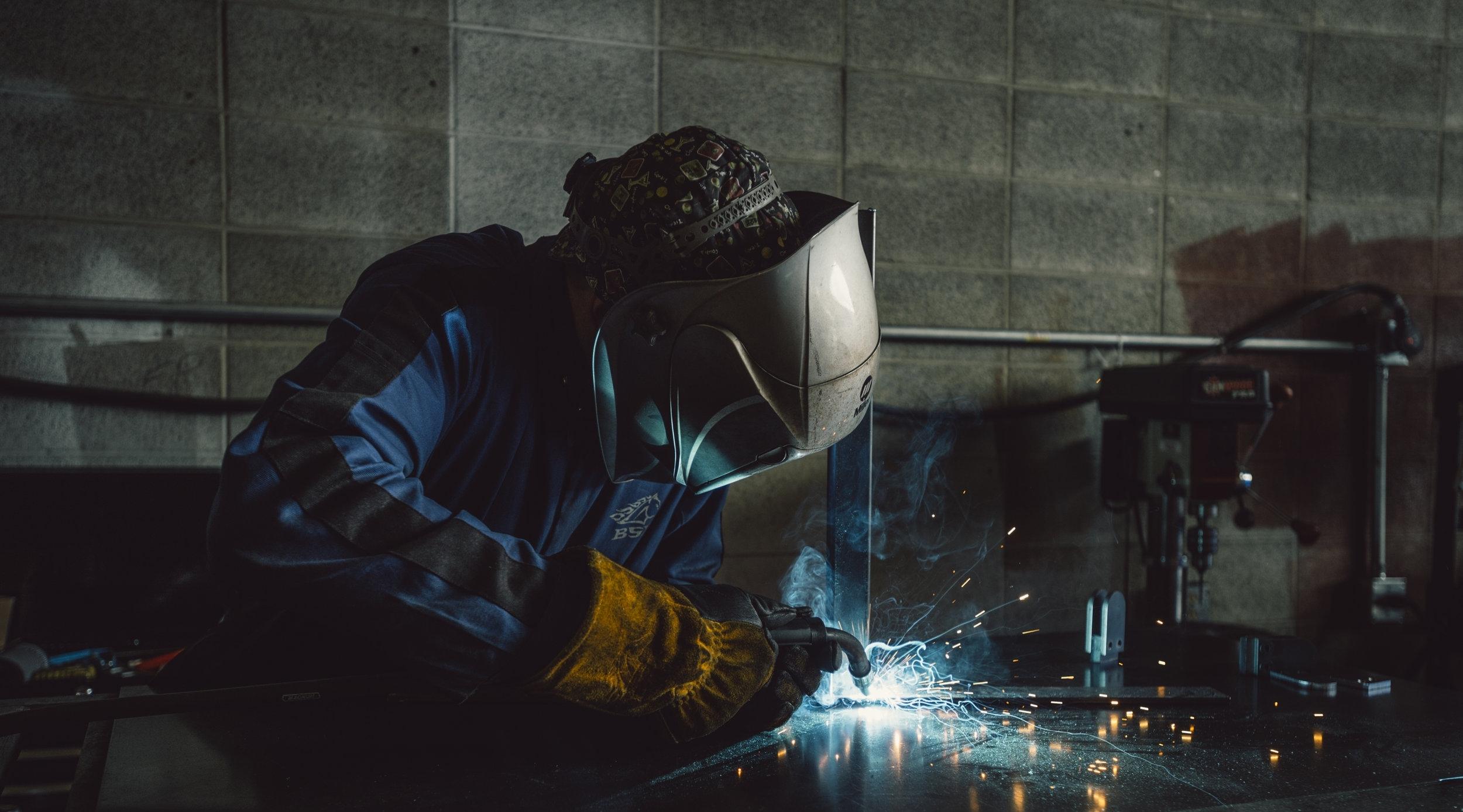 Steel Fabricators Edmonton Alberta Railing Bollards Metal Aluminum