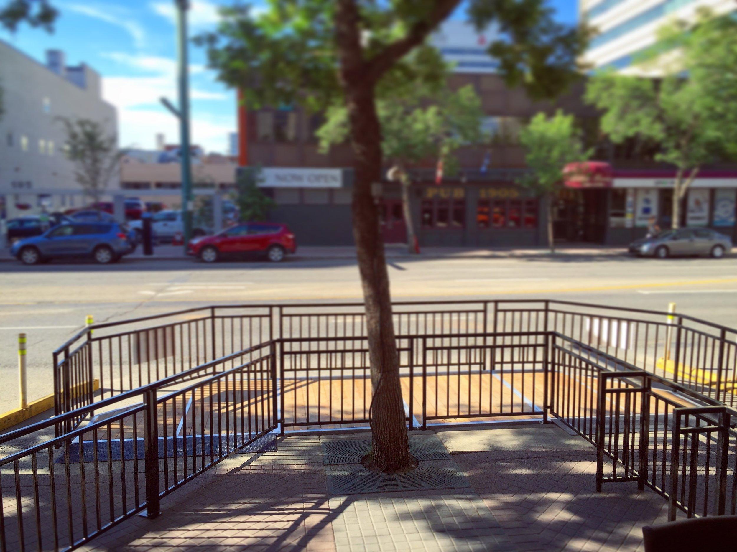 Street Patio Railing Edmonton