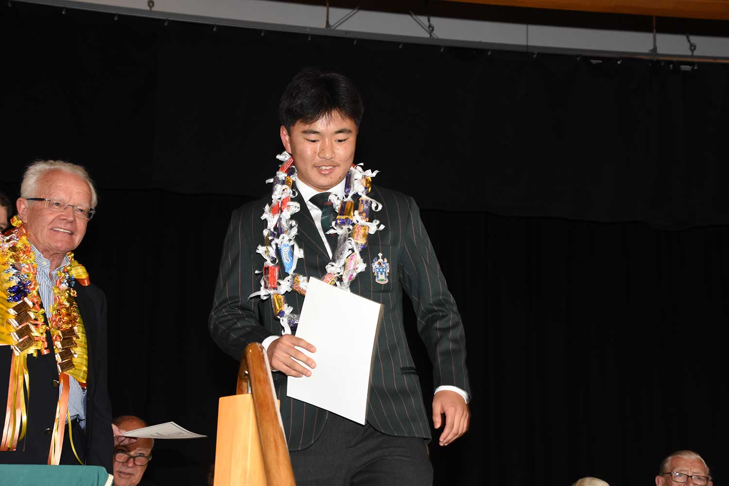 Dylan Bai, Dilworth Prize Giving 2016