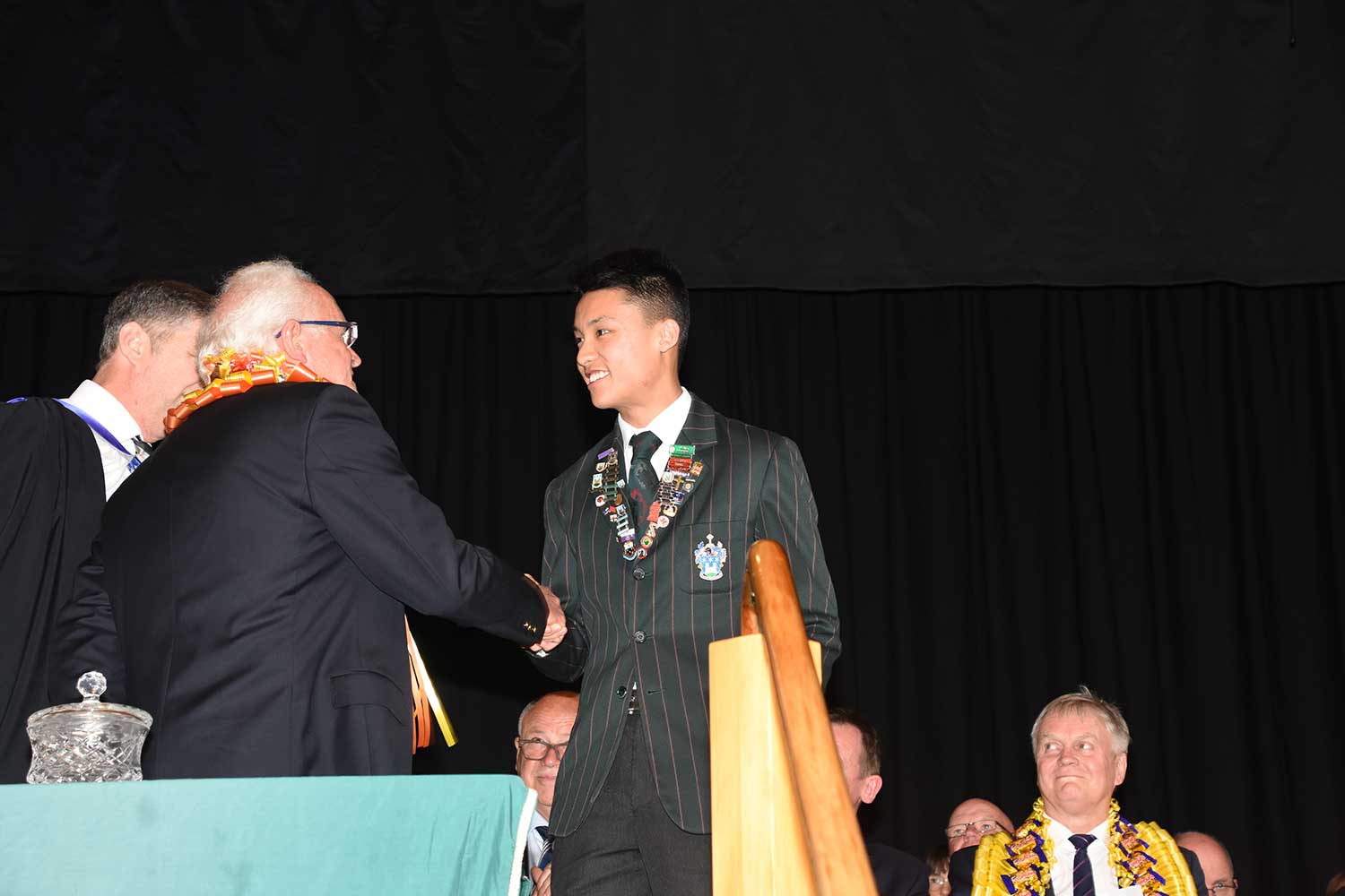 Calvin Lee, Dilworth Prize Giving 2016