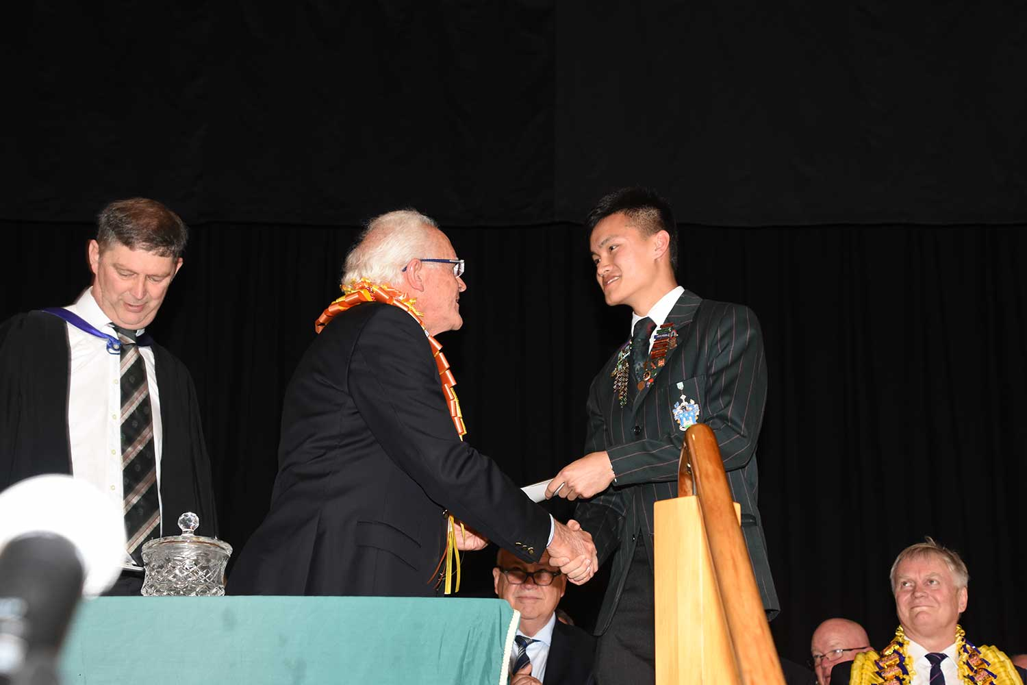 Daniel Lee, Dilworth Prize Giving 2016