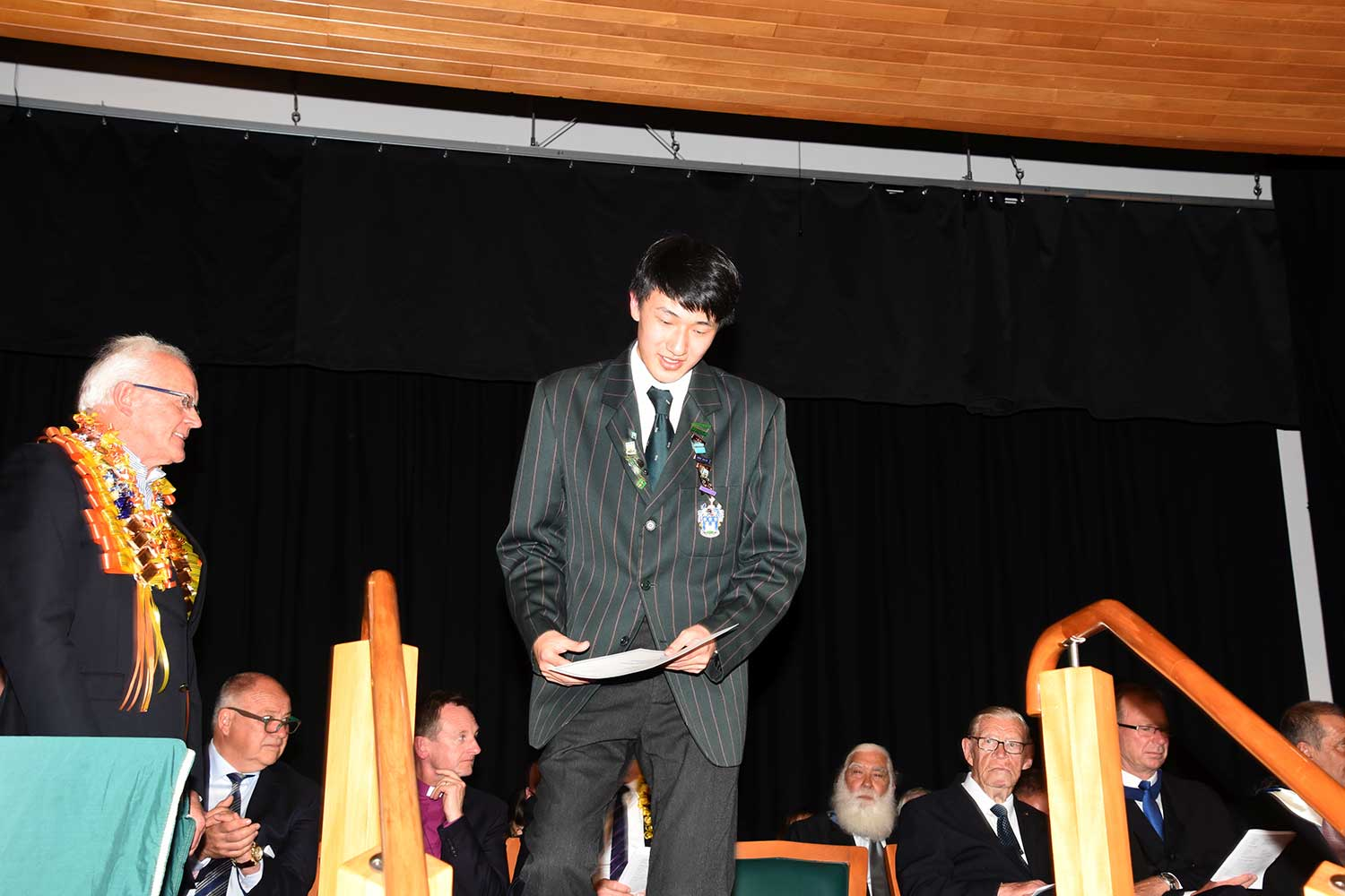 Enoch Sun, Dilworth Prize Giving 2016