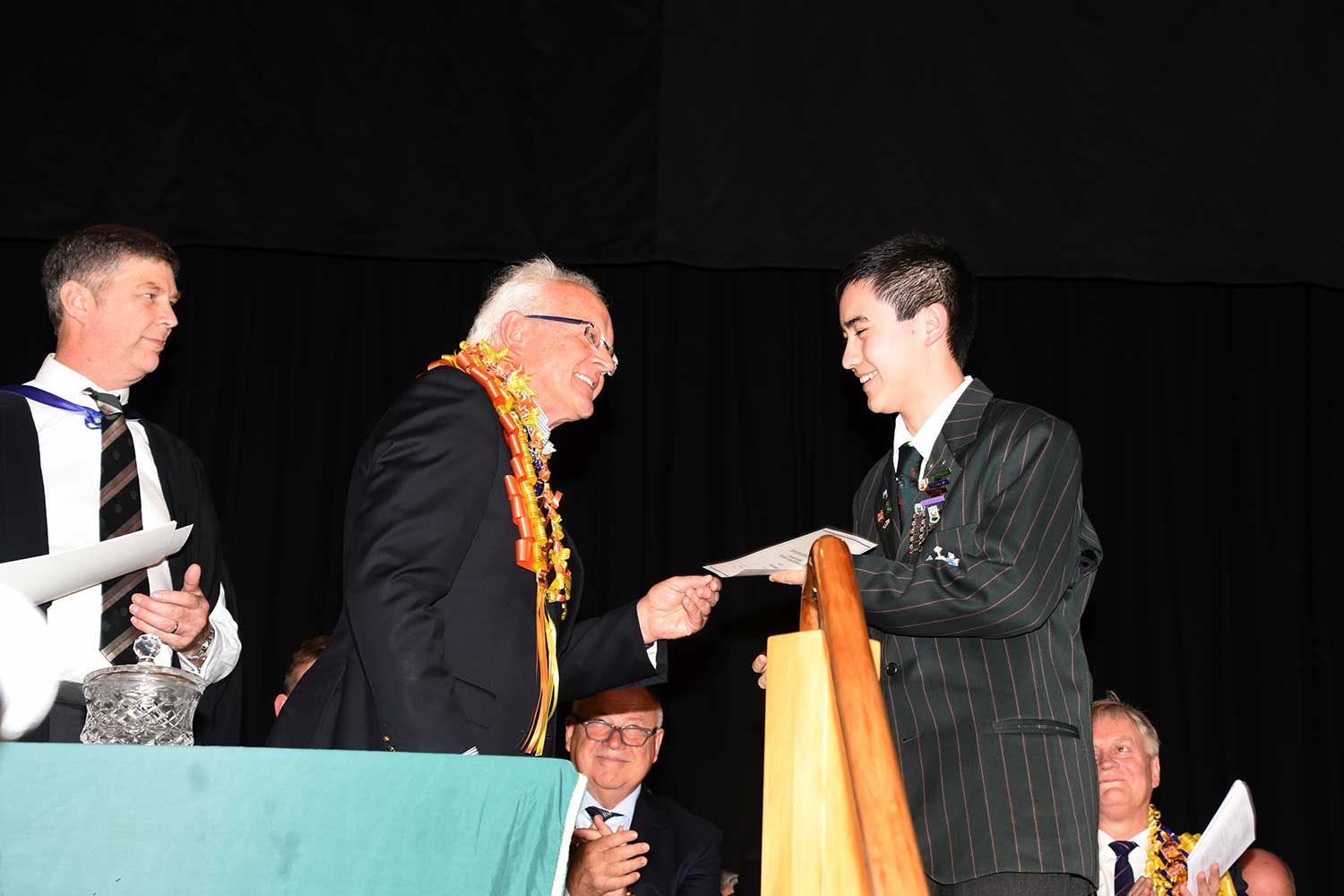 Ryan Parkinson, Dilworth Prize Giving 2016
