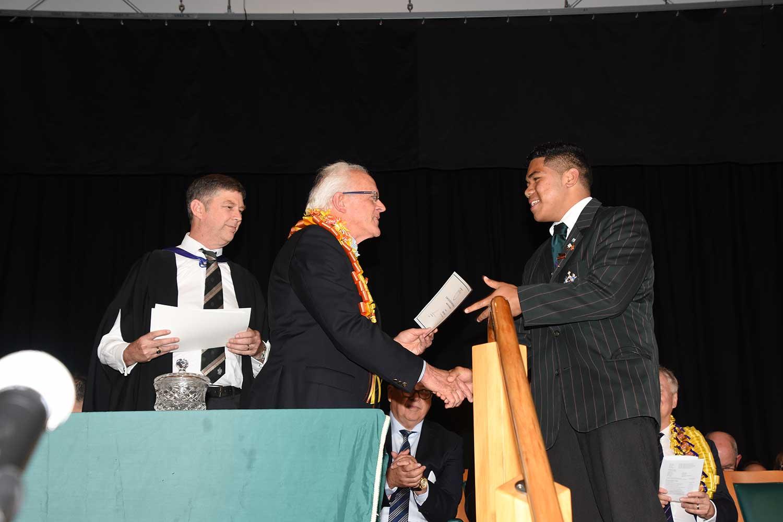Simi Fukava, Dilworth Prize Giving 2016