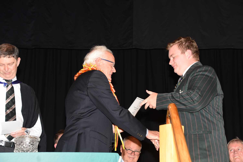 Casey van der Star, Dilworth Prize Giving 2016