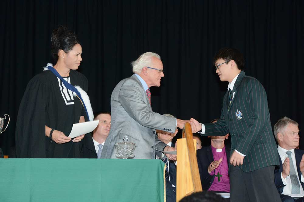 Nick Wong, Dilworth Prize Giving 2015