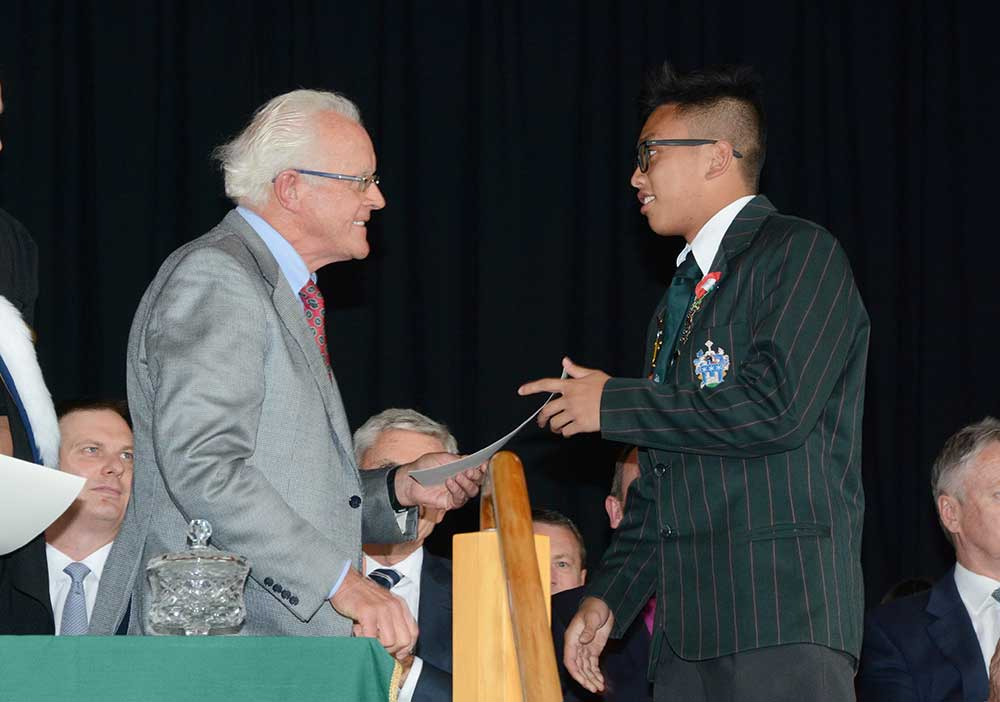 Rommel Layco, Dilworth Prize Giving 2015