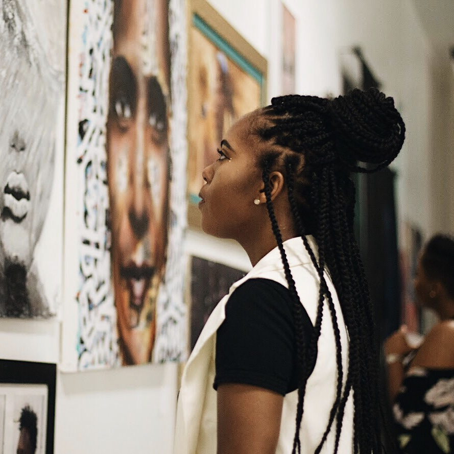 Photo by  Anna Lanier at  The Art of Blackness .