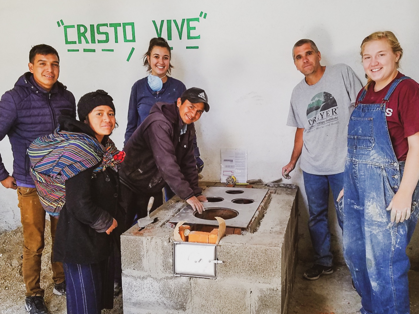 Clean-Air Stove Building - Epidemiological research demonstrates that the two leading causes of mortality in our partner communities in Guatemala are upper respiratory infections and waterborne contaminants. For children under five, respiratory illness is the leading cause of death (WHO). These are both linked to the practice of cooking on open pit fires in tiny, unventilated homes.