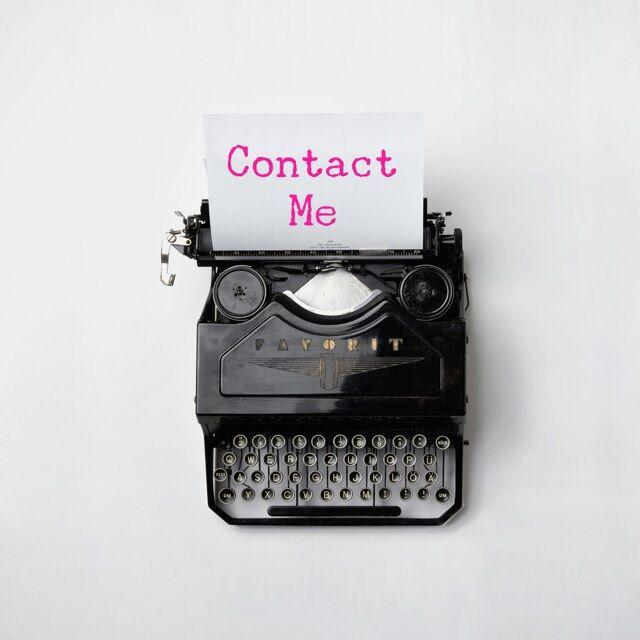 LB - Image - Ad - Contact me typewriter.jpg