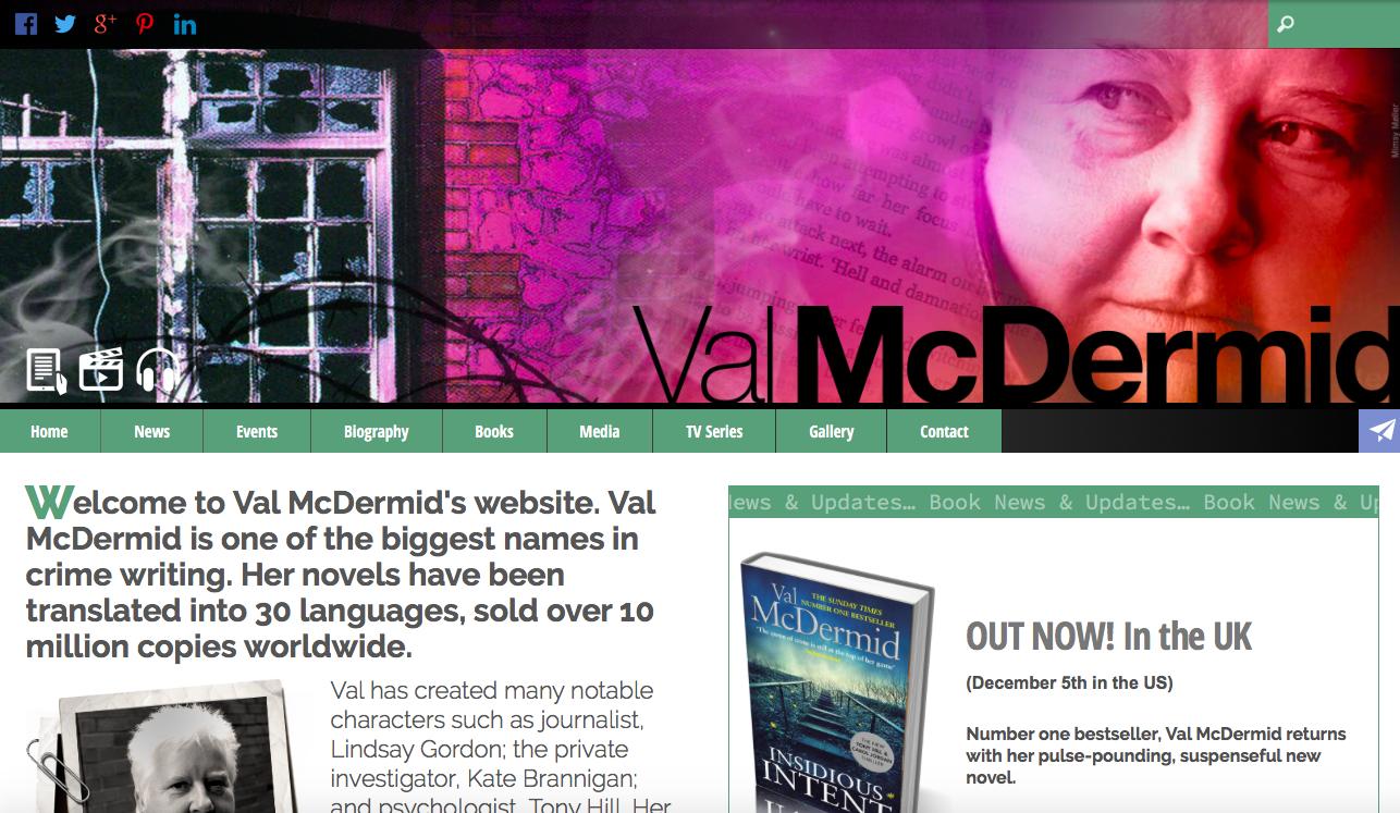 Val McDermid website