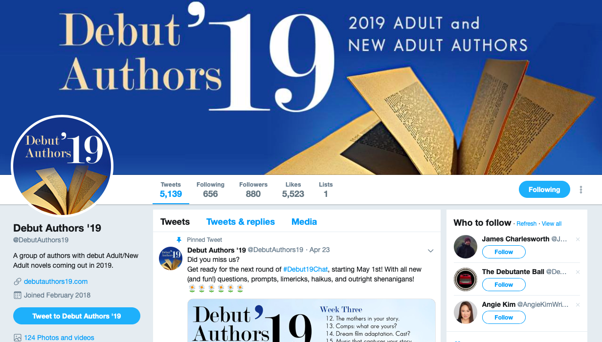 TEA - Author Collaborations - Debut Authors Twitter.png