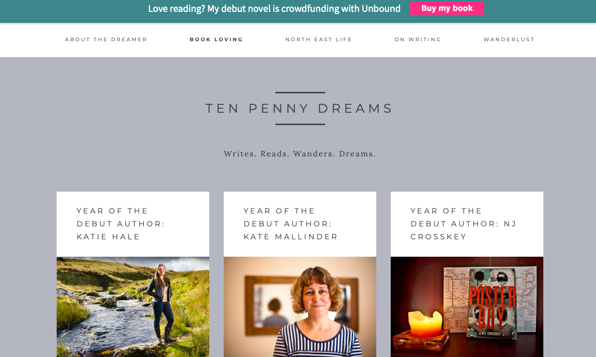 TEA - Author Collaborations - Amy lord debut blog