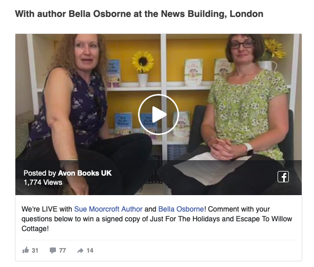 TEA - Author Collaborations - Interview Facebook Live