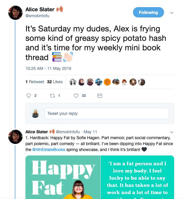 TEA - Author Collaborations - Twitter book thread