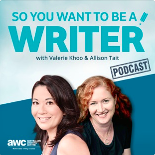 TEA - Image - Podcast - So you want to be a writer (australian).png
