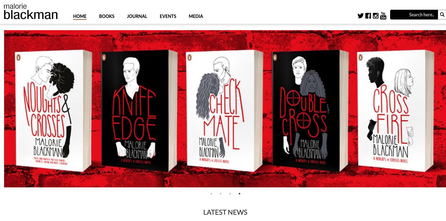 TEA - Author Website - Home page - Malorie Blackman.png
