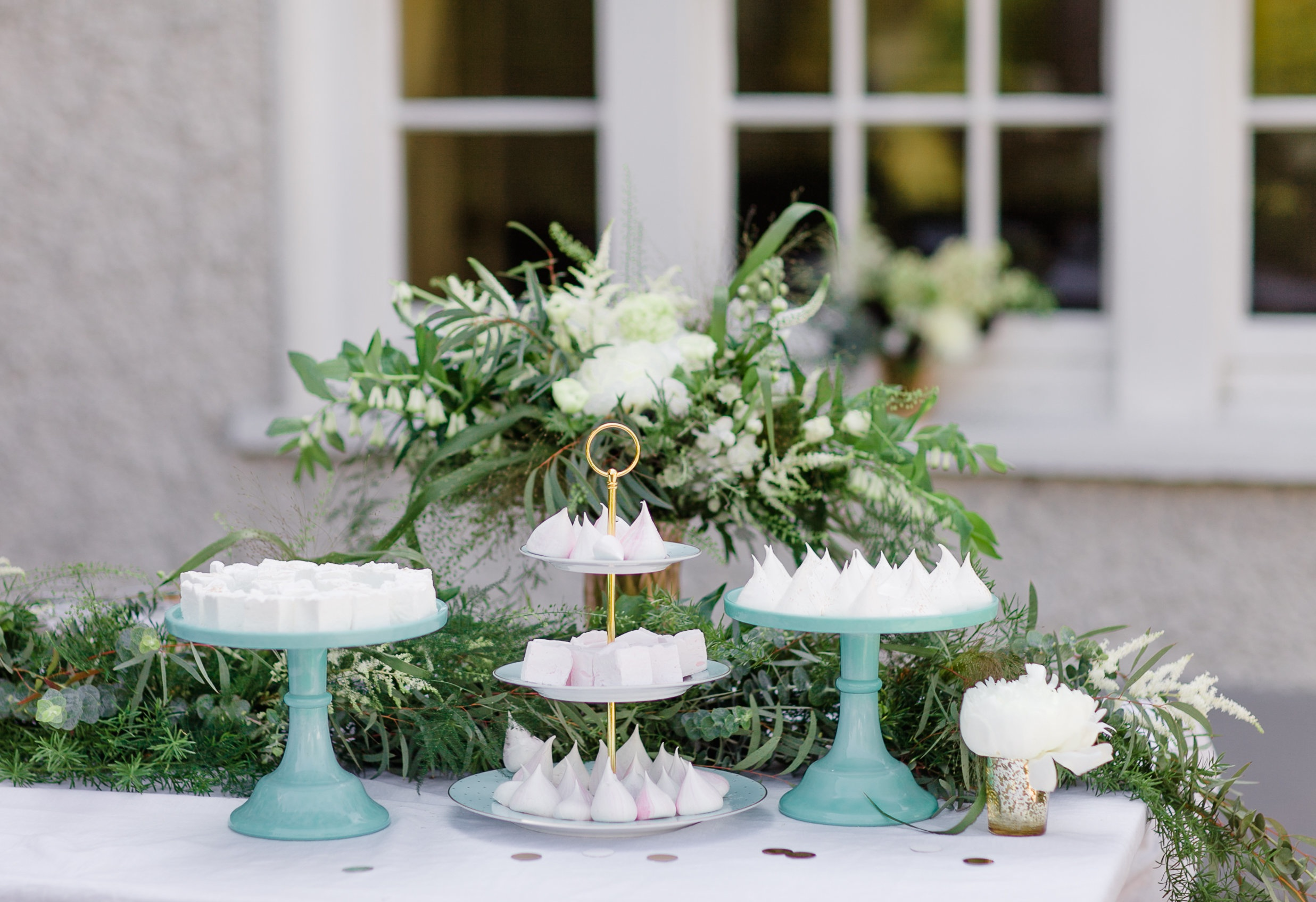 Copy of Dessert Table, meringues, marshmallows, Tattersalls