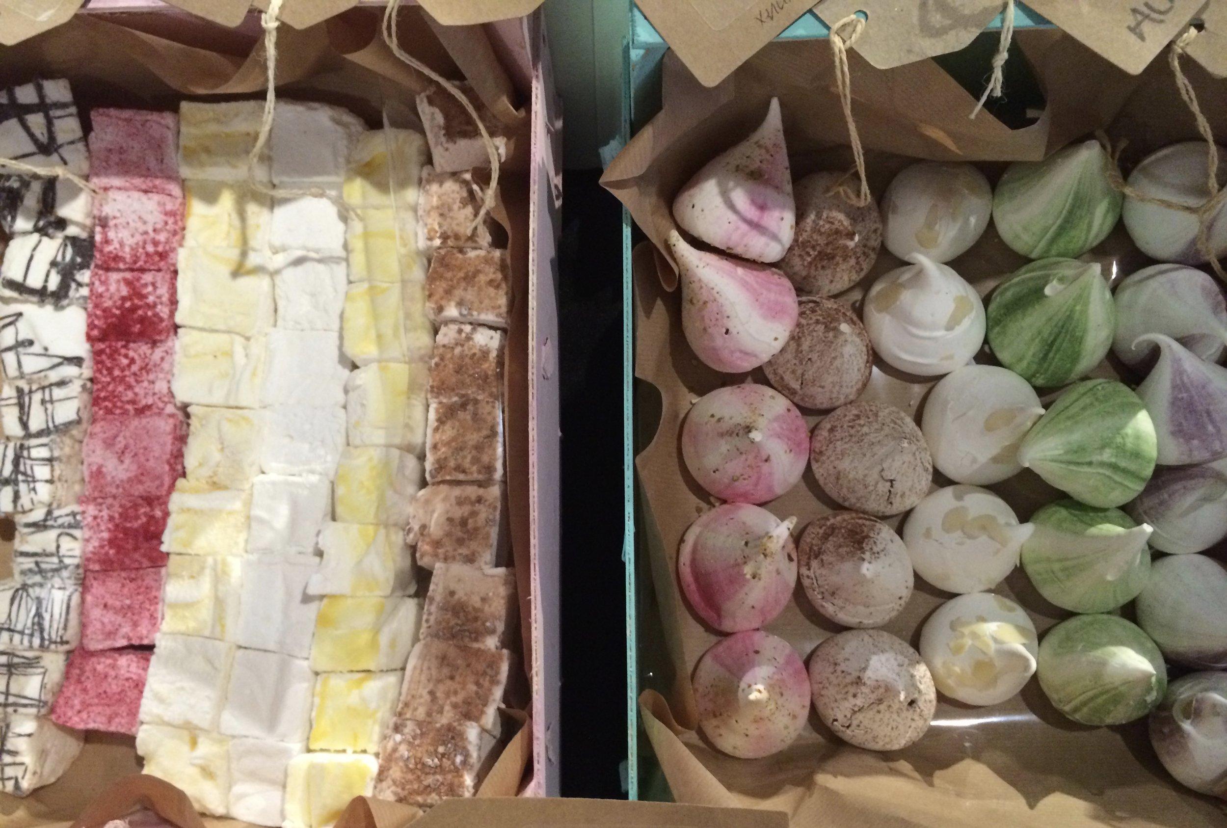 Marshmallows, meringues, Dublin food, Dublin treats, corporate gifts