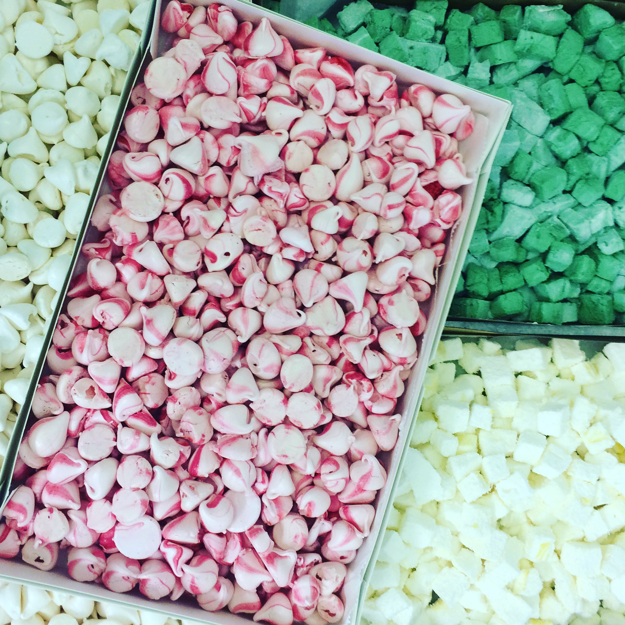 Marshmallows, meringues, catering food, Dublin food