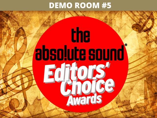 "MUSIC ROOM     Featuring:      ""The Best Music System       For £24,999""      5 Times Winner of Absolute Sound's Editor's Choice Award"