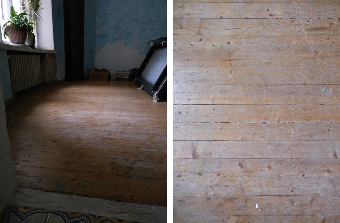 Meidän tulevassa master bedroomissa oli ilmeisesti ollut jonkinlainen lakkaus.
